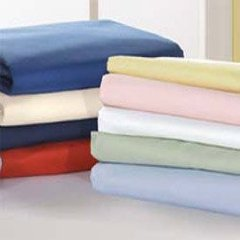 Crib and Toddler Poly/Cotton Flat Sheets by BabyDoll