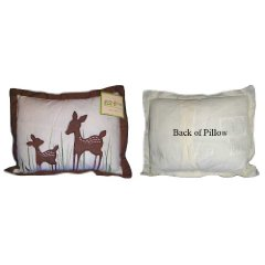 Organic Willow Throw Pillow by Kidsline
