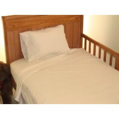 Toddler Bed Sheet Set Ivory color by AB Lifestyles