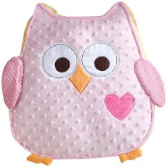 Happi Tree Plush Pillow Pink color by Dena