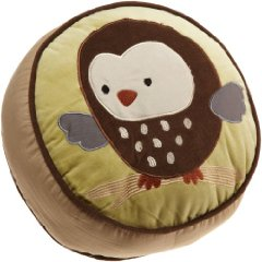 Forest Friends Throw Pillow Tan  Choc colors by Carter's