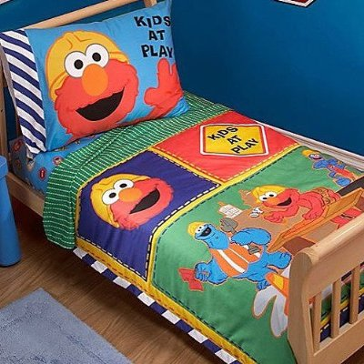 Construction Zone Toddler Set 4 Pieces by Sesame Street