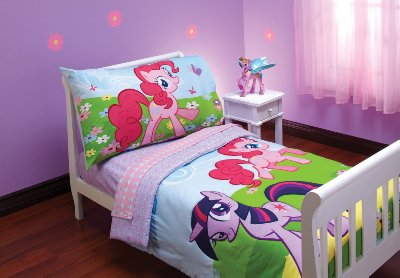 My Little Pony Toddler Bedding Set 4 Pieces by Hasbro