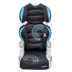 Amp High Back Booster Car Seat by Evenflo