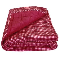 Classics Gingham Crib Coverlet by Tadpoles