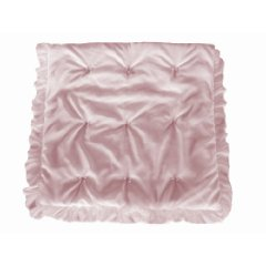 Layered Crib Comforter Pink color Baby Doll