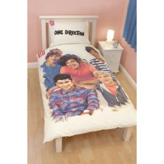 One Direction Crush Duvet Set Single by Linenideas
