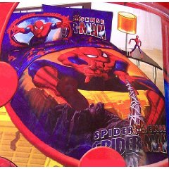 Spider Sense Spiderman Twin or Full Comforter by Jay Franco & Sons