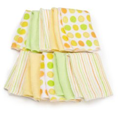 10 pack Soft Terry Washcloth by Spasik