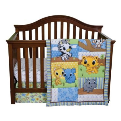 3 Piece Crib Bedding Set by Trend Lab