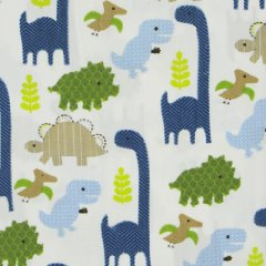 Adorable Dino Crib Sheet by Jill McDonald