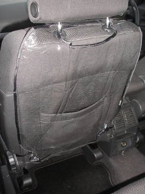 Auto Seat Back Protector Comes in 2 Pack by Zone Tech