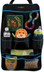 Backseat Organizer Black color by Munchkin