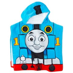 Bath Poncho Hooded Towel by Thomas the Tank and Friends