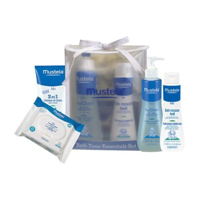 Bath Time Essential Set 5 Pieces in 1 Set by Mustela