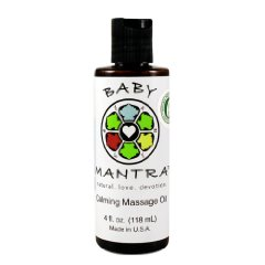 Calming Massage Oil by Baby Mantra