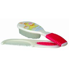 Comb and Brush by Nuby