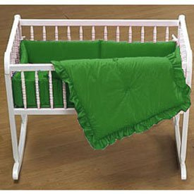 Cradle Bedding in Solid Color