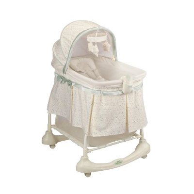 Cuddle 'N Care 2-in-1 Bassinet and Incline Sleeper by Kolcraft