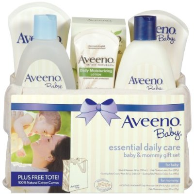 Baby Gift Set Daily Care Essentials Basket by Aveeno
