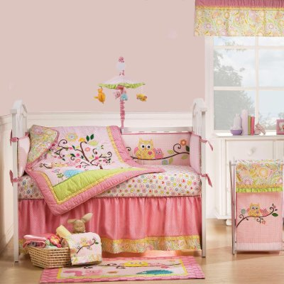 Dena Happi Tree Baby Crib Bedding Set with Bumper comes in 10 Pieces by Kidsline
