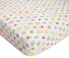 Dena Happi Tree Crib Fitted Sheet by Kids Line
