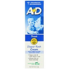 Diaper Rash Cream Dimethicone Zinc Oxide Cream by A&D
