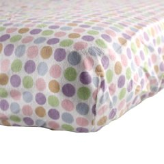 Fitted Crib Sheet by Luvable Friends
