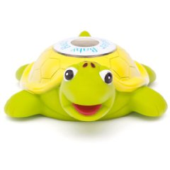 Baby Bath Floating Turtle Toy and Bath Tub Thermometer