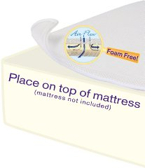 Miracle Mat Breathable Crib Mattress Pad by Dex Baby