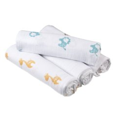 Muslin Swadle Blanket by Aden Anais Pack of 4
