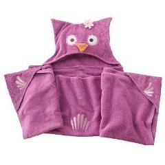 Olivia Owl Hooded Bath Towel by Jumping Beans