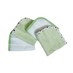 Organic Terry Wash Cloths by American Baby Company