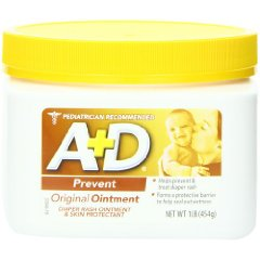 Original Ointment Jar Diaper Rash and All-Purpose Skincare Formula by A&D