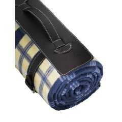 Outdoor Blanket with Water Proof Backing by Freddie and Sebbie