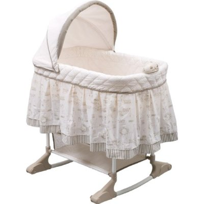 Play Time Jungle Rocking Bassinet by Delta