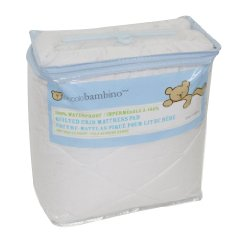 Quilted Waterproof Mattress Pad by Piccolo Bambino
