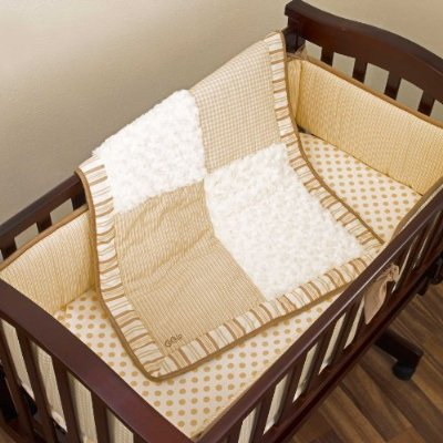 Snickerdoodle Baby Cradle Bedding Set by Cocalo