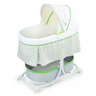 Soothe and Sleep Bassinet with Motion Sweet Lamb Style by Summer Infant