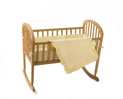 Teddy Bear Terry Cradle Set Ecru by American Baby Company