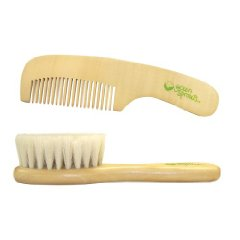 Wooden Brush and Comb Set by Green Sprouts