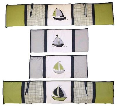 Zachary Traditional Padded Bumper by Nautica