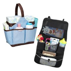 Backseat Organizer and Portable Diaper Caddy by Munchkin