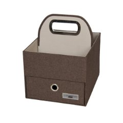 Heather Diaper and Wipes Caddy (Cocoa) by JJ Cole