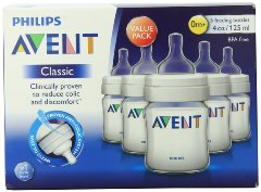 BPA Free Classic Polypropylene Bottle by Philips AVENT