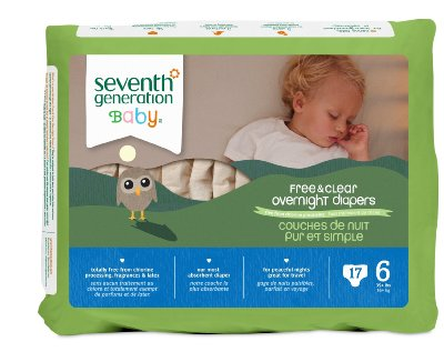 Baby Free & Clear Overnight Diapers by Seventh Generation