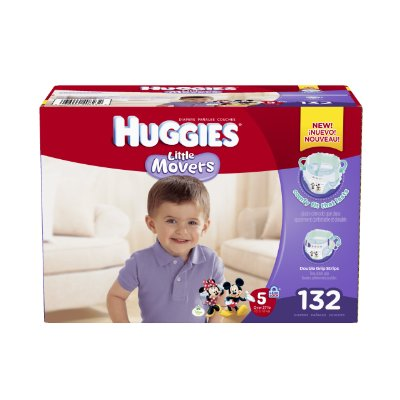 Little Movers Diapers by Huggies