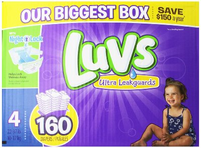 Luvs With Ultra Leakguards Diapers by Luvs