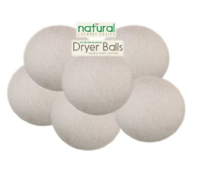 Natural Laundry Choice 6 Xl Wool Dryer Balls