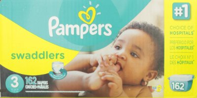 Swaddlers Diapers Economy Pack Plus by Pampers